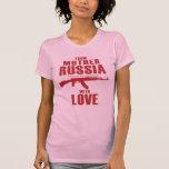 De la madre Rusia con la camisa del amor AK