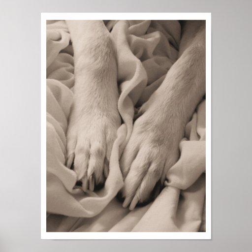 De la manicura poster/impresión del ~ por favor