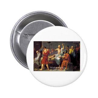 De la maravilla de Sócrates camisetas y tarjetas d Pins