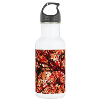 ~ de la MEZCLA del OTOÑO (un diseño del arte Botella De Agua De Acero Inoxidable