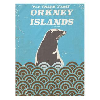De la mosca poster del vintage de las Islas Mantel De Tela