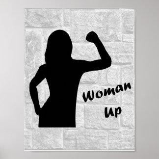 De la mujer posters de la aptitud para arriba -