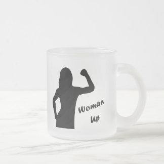 De la mujer tazas de motivación para arriba - para
