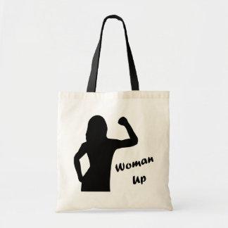 De la mujer tote de la motivación de la aptitud bolsa tela barata
