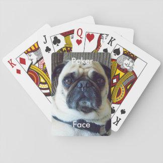 """De la """"naipes cara de póker"""" de la yogui cartas de juego"""
