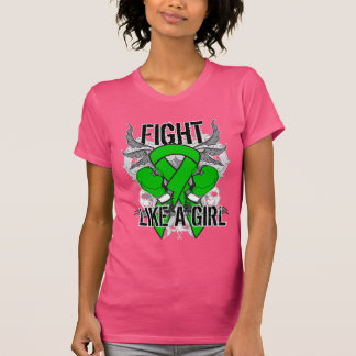 De la neurofibromatosis lucha ultra como un chica camiseta