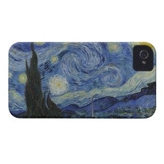 De la noche estrellada de la casamata el iPhone 4 iPhone 4 Case-Mate Carcasas