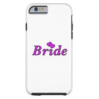 De la novia amor simplemente funda de iPhone 6 tough