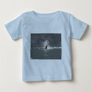 De la orca de la ballena de las respiraciones playeras