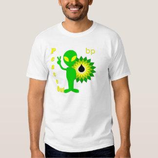 De la paz punto de ebullición hacia fuera camisas