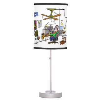 """¡De la """"personalizar de la lámpara de mesa cueva d"""