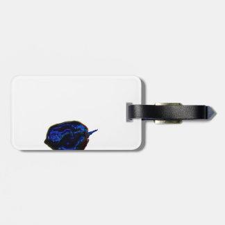 de la pimienta imagen oscura azul de la comida en etiquetas para maletas