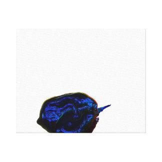 de la pimienta imagen oscura azul de la comida en impresion de lienzo