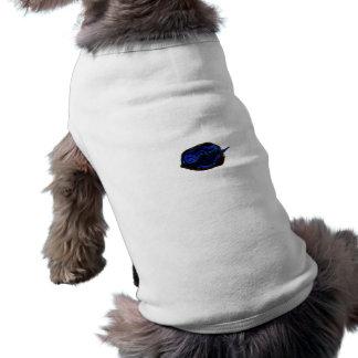 de la pimienta imagen oscura azul de la comida en prenda mascota