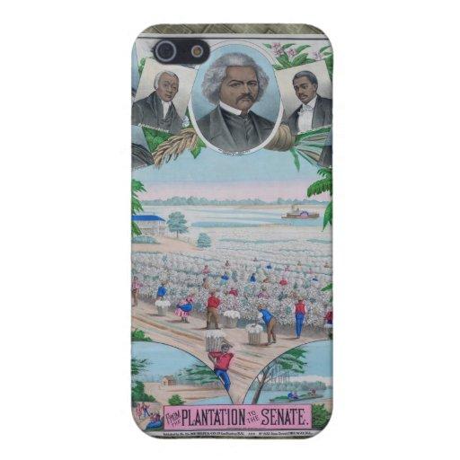 De la plantación al senado iPhone 5 funda