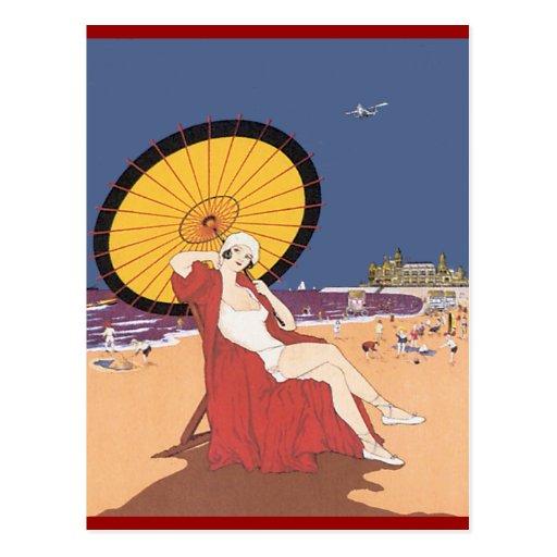 De la playa postales