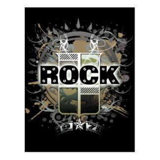 De la postal roca del vintage de Rock Life