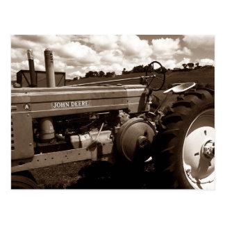 ~ de la postal un primer del tractor del VINTAGE c