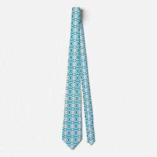 De la primavera del azul corbata del diseño ultra