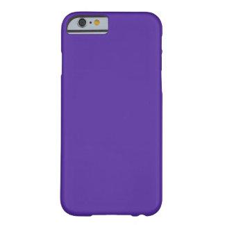 ~ de la PÚRPURA REAL (color sólido) Funda Para iPhone 6 Barely There