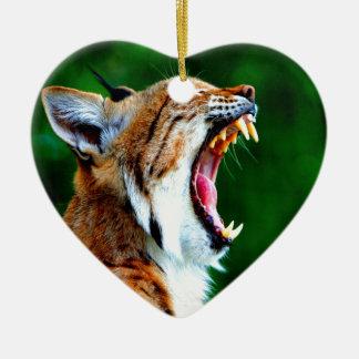 De la risa gato montés ruidoso del lince del lince ornamentos de reyes magos