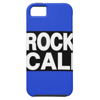 De la roca de Cali azul de largo iPhone 5 Case-Mate Coberturas
