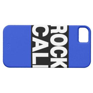 De la roca de Cali azul de largo iPhone 5 Cobertura