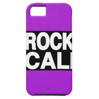 De la roca de Cali púrpura de largo iPhone 5 Case-Mate Cobertura
