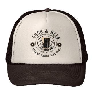 ™ de la roca y de la cerveza gorras