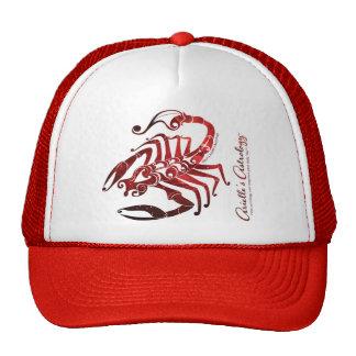 ~ de la ropa de la astrología del escorpión gorras de camionero