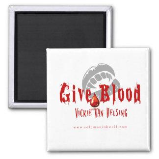 Dé la sangre - imán