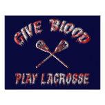 Dé la sangre, invitaciones del fiesta de LaCrosse  Invitaciones Personales