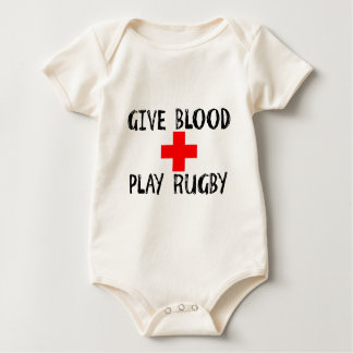 Dé la sangre, rugbi del juego mameluco de bebé