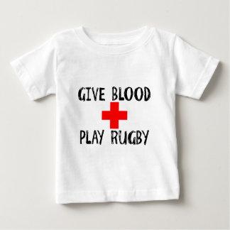 Dé la sangre, rugbi del juego remeras