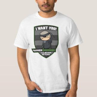 """De la serpiente """"le quiero!"""" Camiseta (versión"""
