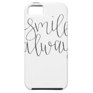 De la sonrisa caso del iPhone siempre iPhone 5 Case-Mate Cobertura