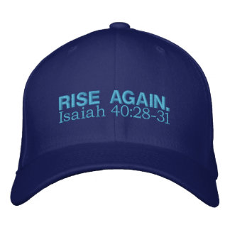 De la SUBIDA 40:28 de Isaías OTRA VEZ - 31 Gorras Bordadas