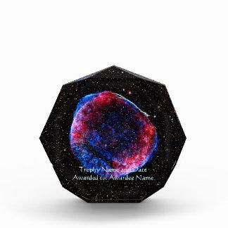 De la supernova la imagen más brillante del