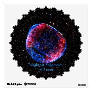 De la supernova la imagen más brillante del espaci