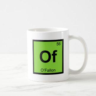 - De la tabla periódica de la química de O'Fallon Taza Clásica