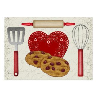 De la tarjeta de la cocina - SRF Tarjetas De Visita Grandes
