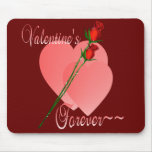 De la tarjeta del día de San Valentín Mousepad par Alfombrilla De Ratón