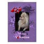 De la tarjeta del día de San Valentín perrito lind