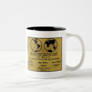 """De la """"taza de café PLACA de APOLO"""" del bronce"""