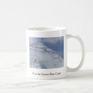 De la taza del campo bajo de Everest