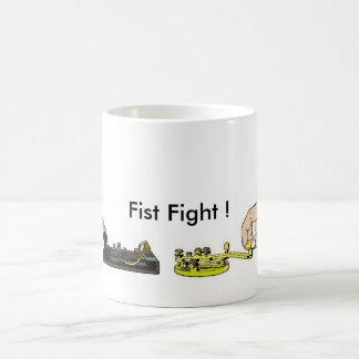 """De la """"taza lucha del puño"""" del equipo de taza"""