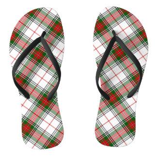 ~ de la tela escocesa del navidad personalizado