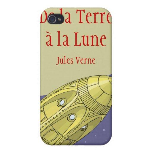 De la Terre à la Lune - Jules Verne iPhone 4/4S Case