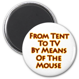De la tienda a la TV mediante el ratón Imán Redondo 5 Cm