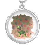 De la tortuga de la lengua parte posterior loca de joyeria personalizada